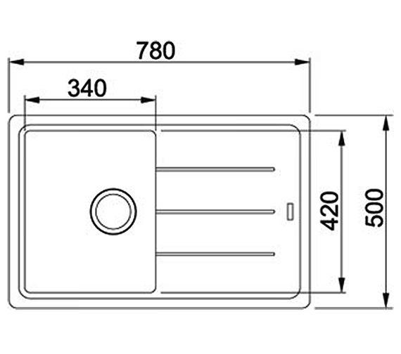 Technical drawing QS-V30025 / 1140253150