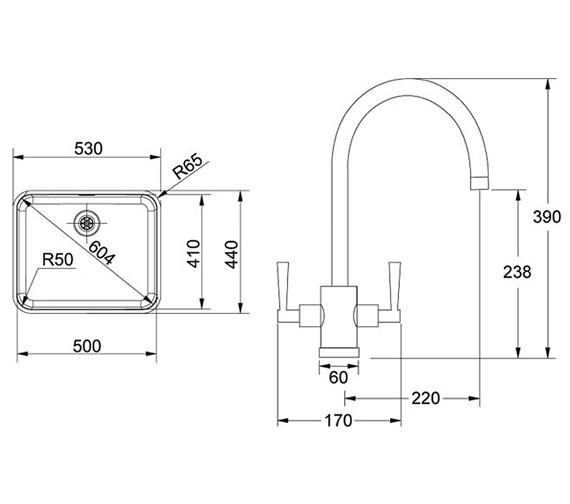 Technical drawing QS-V30041 / 1220250208