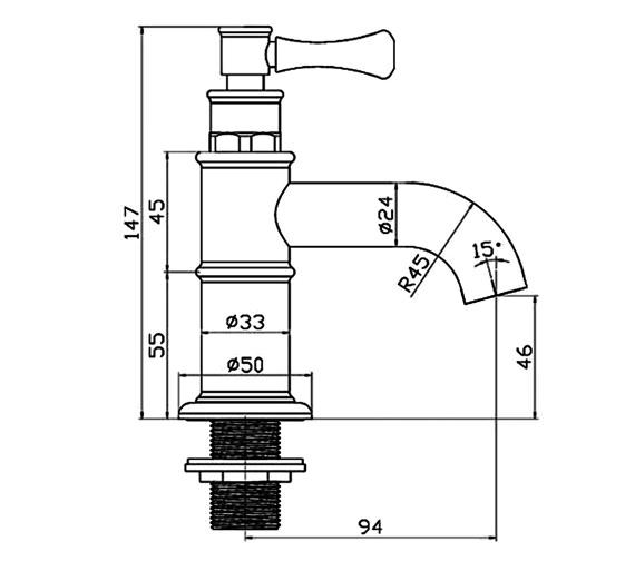 Technical drawing QS-V30080 / TTL003