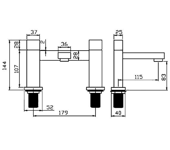 Technical drawing QS-V30093 / BLX005
