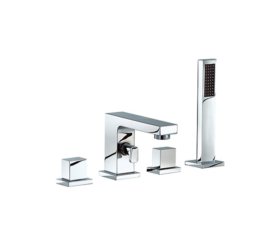 Mayfair Blox 4 Holes Bath Bath Shower Mixer Tap - BLX047