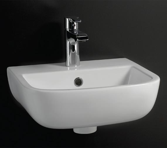 RAK Series 600 1 Tap Hole Hand Basin 400mm - S60040BAS1