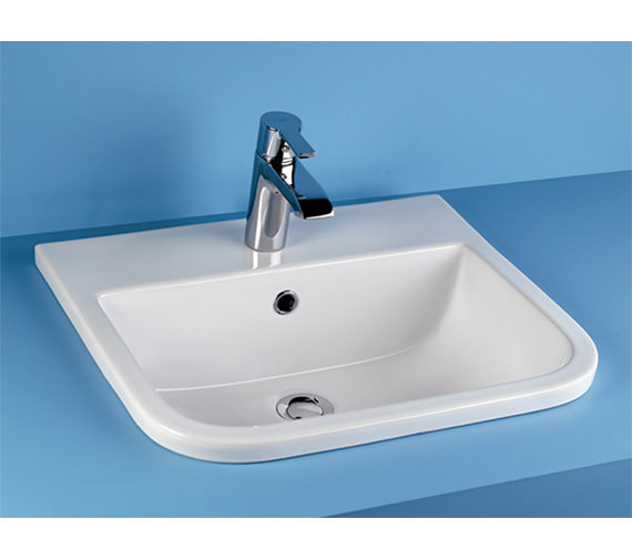 Rak Series 600 1 Tap Hole Inset Vanity Basin 500mm S600vb1