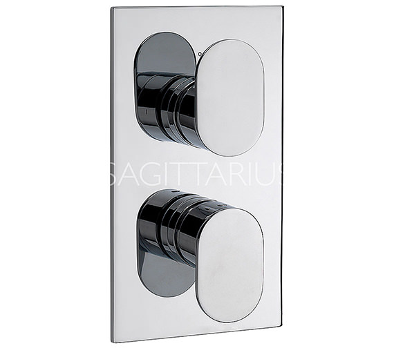 Sagittarius Plaza Concealed Thermostatic Shower Valve - PL-172-C Image