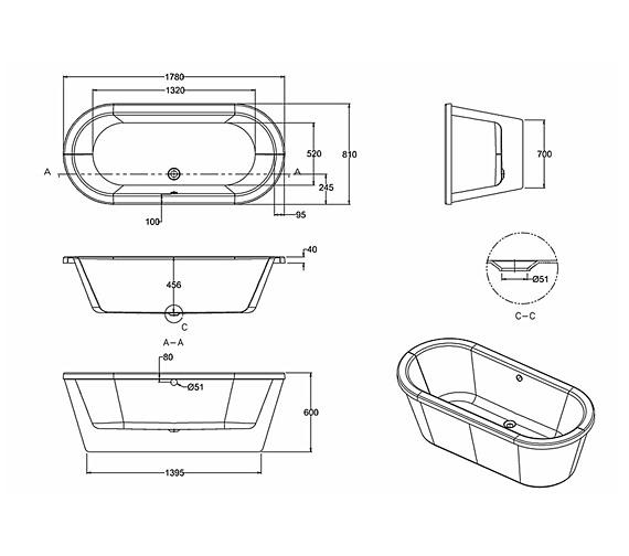 Technical drawing QS-V301 / M1A