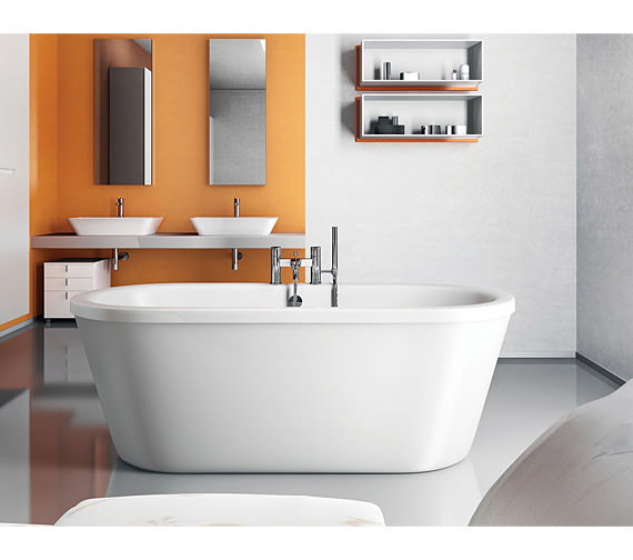 Additional image of Clearwater Nouveau Modern Freestanding Bath 1780 x 810mm