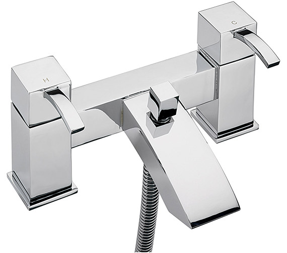 Sagittarius Arke Deck Mounted Bath Shower Mixer Tap And Kit