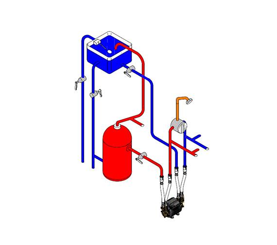 Alternate image of Techflow Twin Impeller  Positive Head Pump