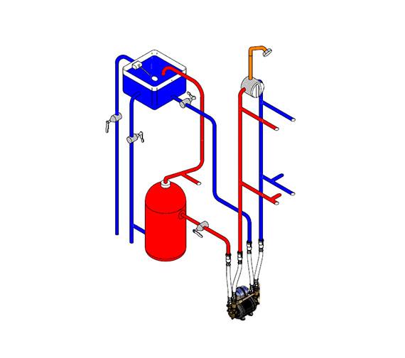 Alternate image of Techflow Turbo 3 Twin Impeller Pump - Negative Head 3 Bar - Turbo 3
