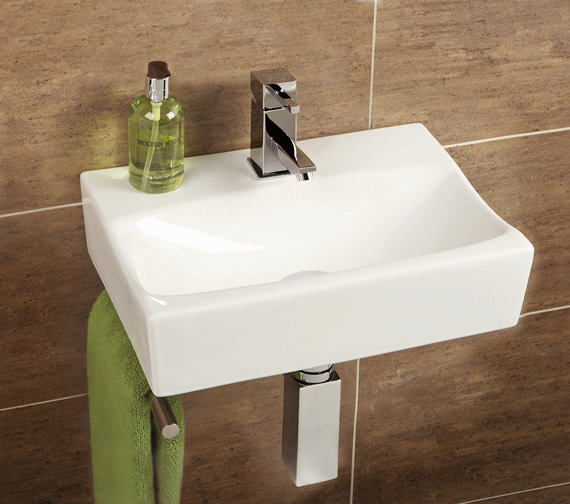 HIB Malo Murcia Cloakroom Basin With Towel Rail - 8921