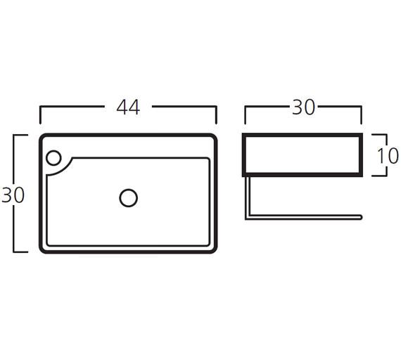 Technical drawing QS-V30779 / 8932