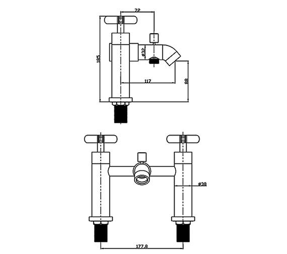 Technical drawing QS-V30847 / STC007