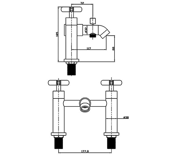 Technical drawing QS-V30881 / LOL007