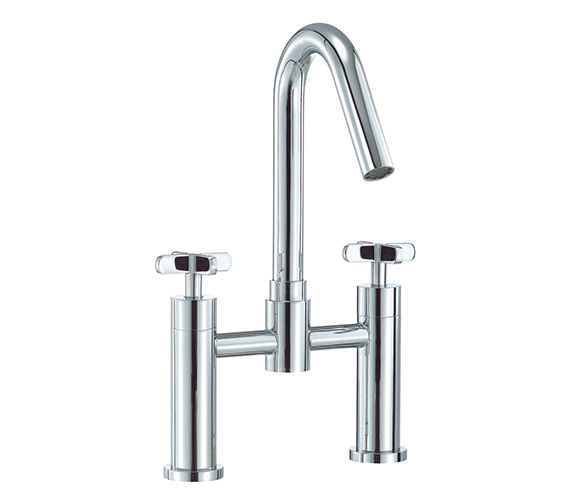 Mayfair Loli Bath Filler Tap High Spout Chrome - LOL023