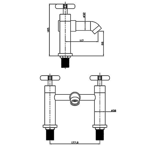 Technical drawing QS-V30886 / LOL005