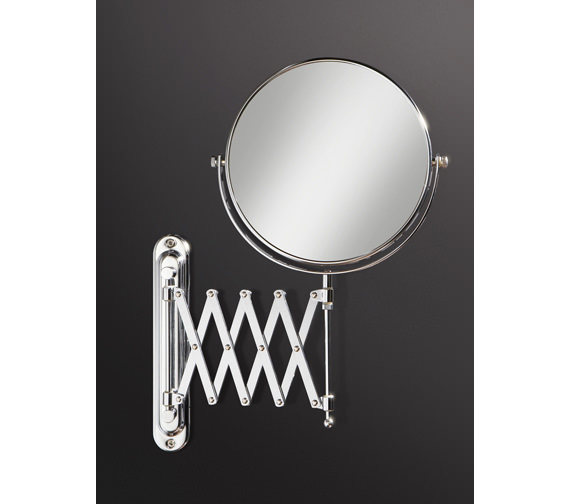 HIB Rossi Extendable Magnifying Bathroom Mirror - 27200