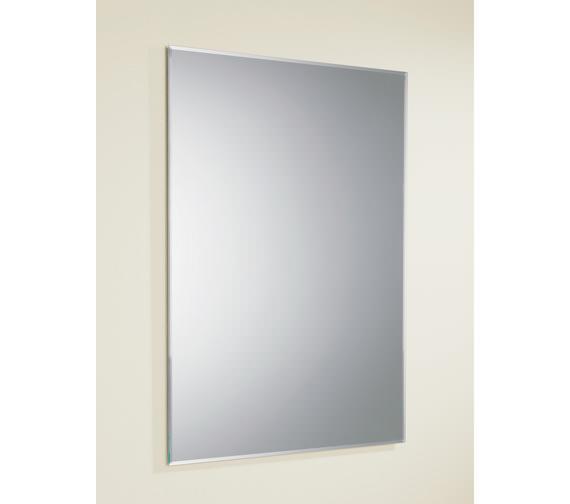 HIB Joshua Rectangular Mirror With Bevelled Edges 500 x 700mm