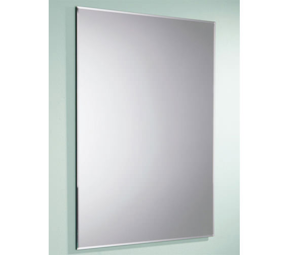 Alternate image of HIB Joshua Rectangular Mirror With Bevelled Edges 500 x 700mm