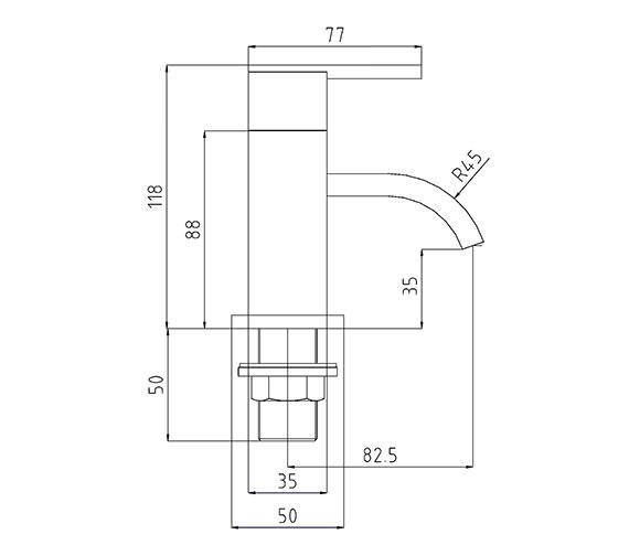 Technical drawing QS-V30999 / IFL003