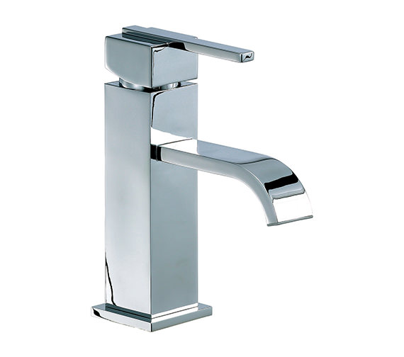 Mayfair Ice Fall Lever Head Mono Basin Mixer Tap Chrome - IFL009