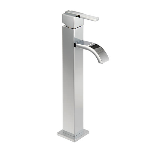 Mayfair Ice Fall Lever Cloakroom Mono Basin Mixer Tap 283mm - IFL069