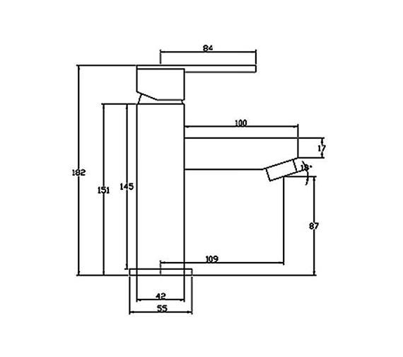 Technical drawing QS-V31021 / ISL009