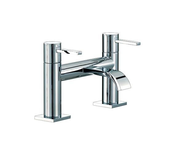 Mayfair Wave Bath Filler Tap Chrome - RDL005