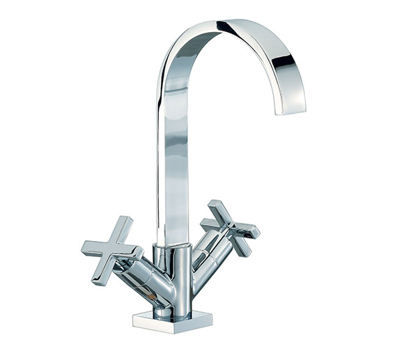 Mayfair Surf Mono Basin Mixer Tap With Pop Up Waste - RDX009