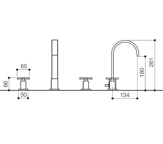 Technical drawing QS-V31105 / RDX049