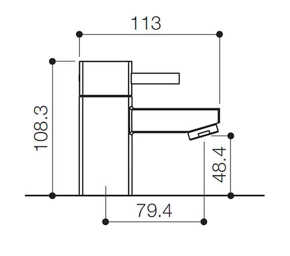 Technical drawing QS-V31106 / QZ001