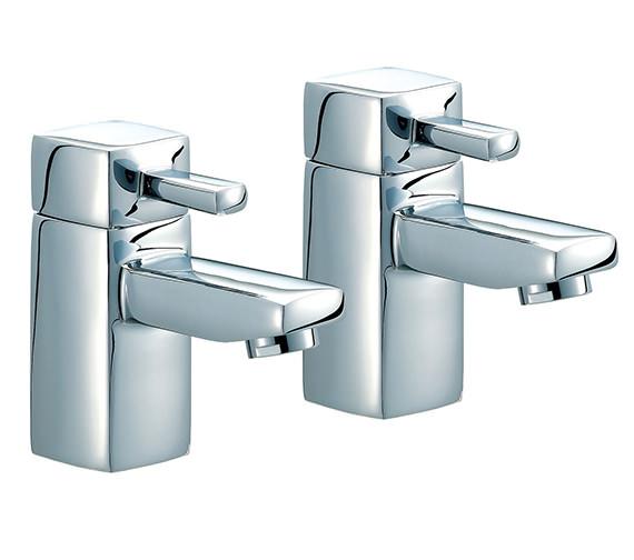 Mayfair QL Pair Of Chrome Bath Taps - QZ003