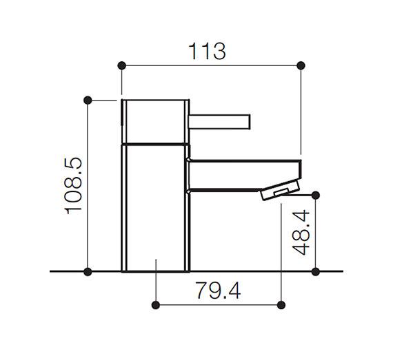 Technical drawing QS-V31107 / QZ003
