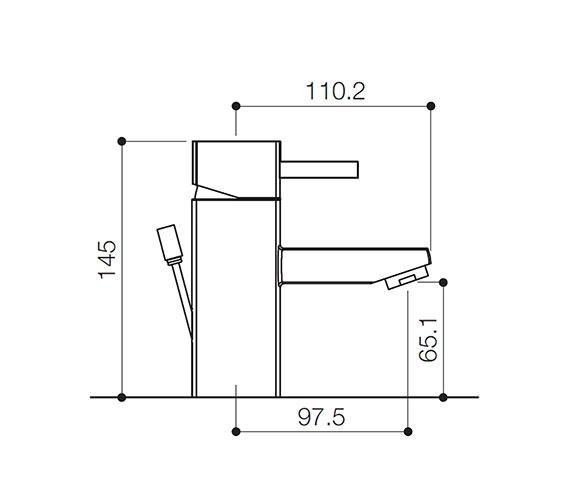 Technical drawing QS-V31108 / QZ009