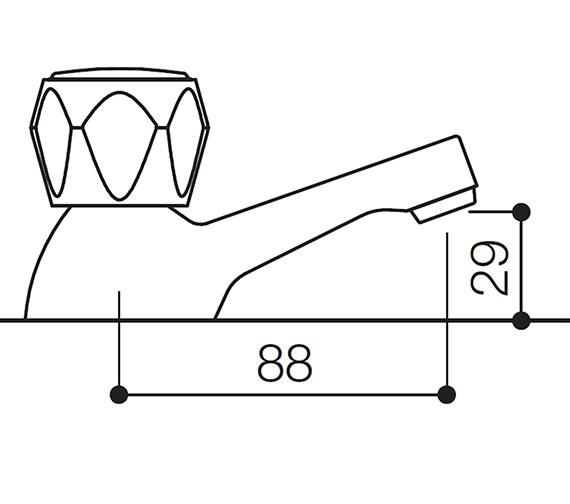 Technical drawing QS-V31116 / AL001