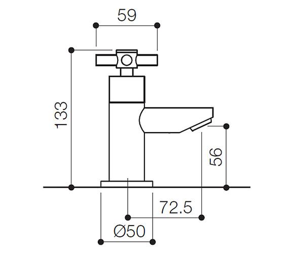 Technical drawing QS-V31125 / SCX003