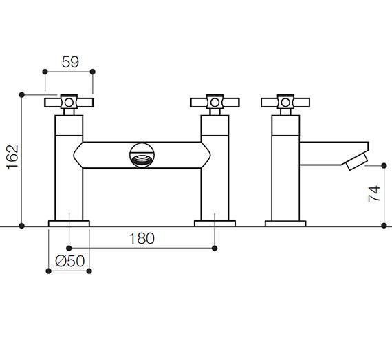 Technical drawing QS-V31126 / SCX005