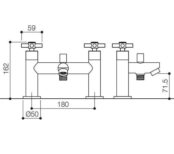 Technical drawing QS-V31128 / SCX007