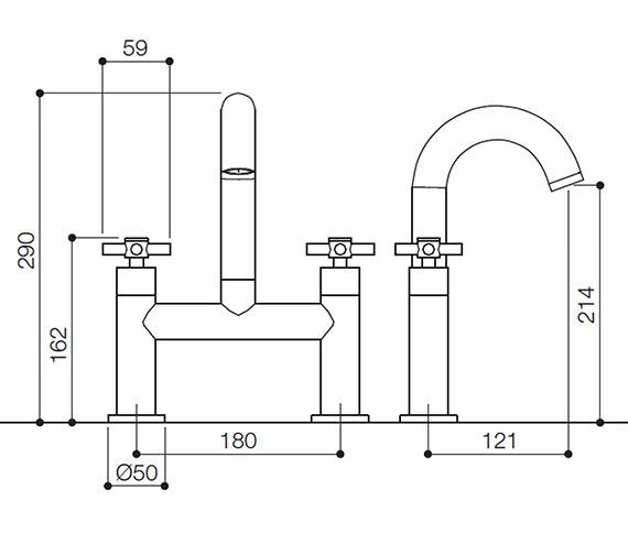 Technical drawing QS-V31129 / SCX017