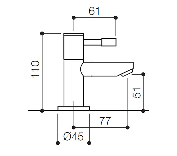 Technical drawing QS-V31142 / SFL001