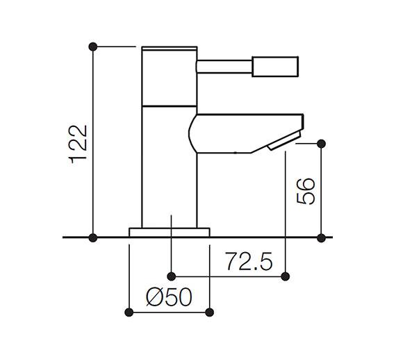 Technical drawing QS-V31143 / SFL003