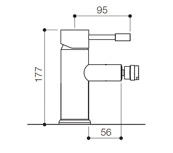Technical drawing QS-V31145 / SFL011