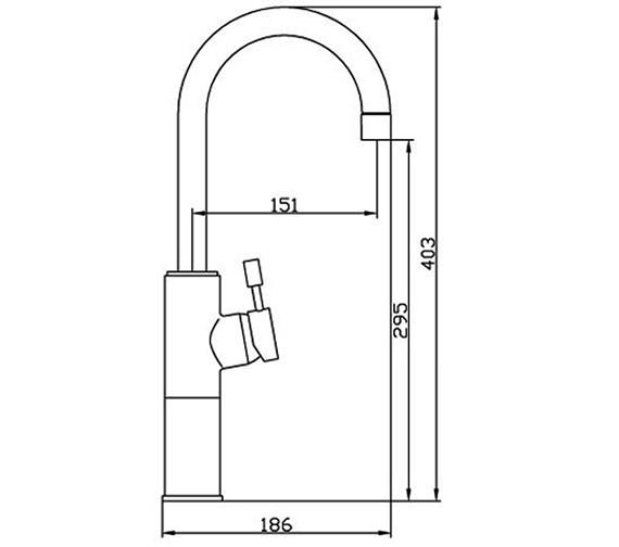 Technical drawing QS-V31153 / SER009