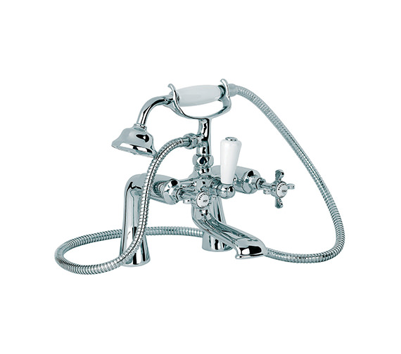 Mayfair Westminster Bath Shower Mixer Tap With Shower Kit WE013
