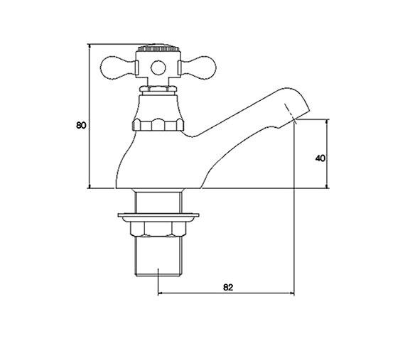 Technical drawing QS-V31184 / RZ005