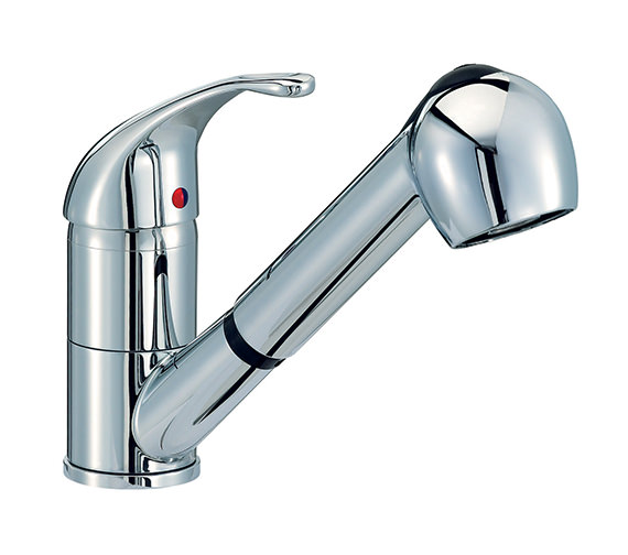 Mayfair Titan Monobloc Kitchen Tap With Pull Out Rinser - KIT007