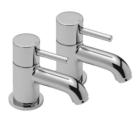 Tre Mercati Milan Pair Of Bath Tap Chrome - 63020