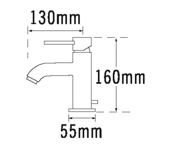 Technical drawing QS-V31266 / 63070