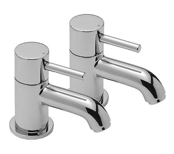 Tre Mercati Milan Pair Of Basin Tap Chrome - 63010