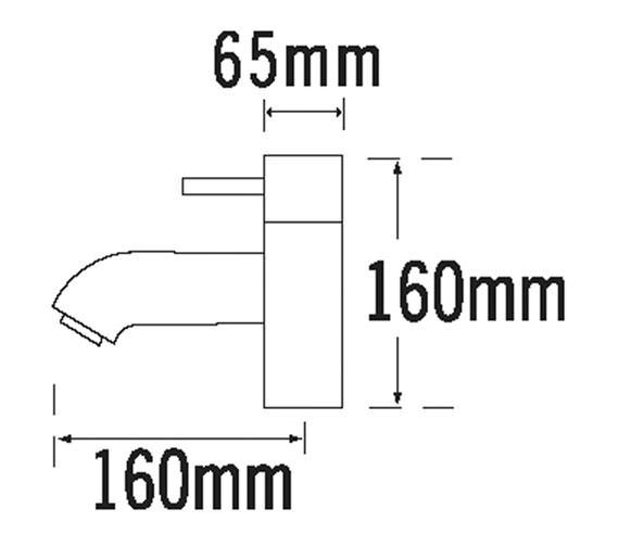 Technical drawing QS-V31272 / 63030