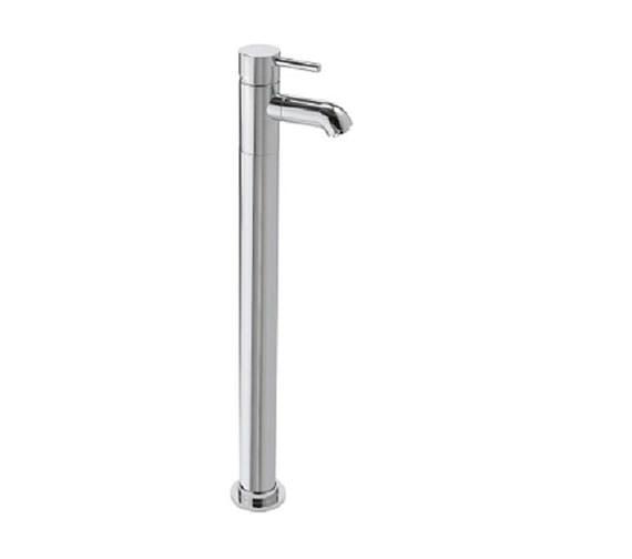 Tre Mercati Milan Floor Mounted Bath Filler Tap Chrome - 63541